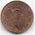 2 евроцента. 2014 г. Кипр. 2-8-22