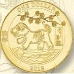 Очередная монетка с собакой