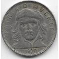3 песо. 1990 г. Куба. Че Гевара. 19-3-302