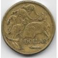 1 доллар. 1984 г. Австралия. Кенгуру. 12-2-737