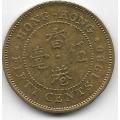 50 центов. 1980 г. Гонконг. 12-2-743