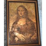 Мона Лиза из монет