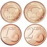 Эстония откажется от самых мелких монет?