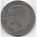 1 крона. 1981 г. Швеция. Карл XVI. 6-5-784