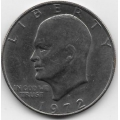 """1 доллар. 1972 г. США. """"Доллар Эйзенхауэра"""". 7-7-233"""