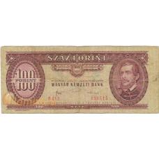 Венгрия. 100 форинтов. 1984 г. Б-1867