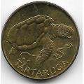 1 эскудо. 1994 г. Кабо-Верде. Морская черепаха. 18-1-133