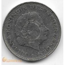 2½ гульдена. 1970 г. Нидерланды. 18-2-262