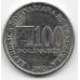 100 боливар. 2002 г. Венесуэла. 18-2-263