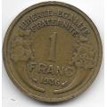 1 франк. 1936 г. Франция. 18-3-281
