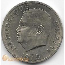 10 сентимов. 1975 г. Гаити. Дювалье, ФАО. 14-4-490