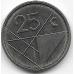 25 центов. 2009 г. Аруба. 1-3-62