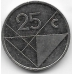 25 центов. 2004 г. Аруба. 1-3-63
