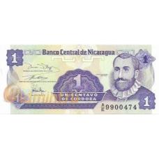 Никарагуа. 1 сентаво. 1991 г. Б-2002