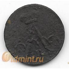 Полушка. 1859(?) г. Российская Империя. 11-2-399