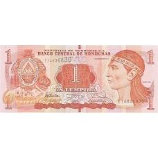 Гондурас. 1 лемпира. 2012 г. Б-2053