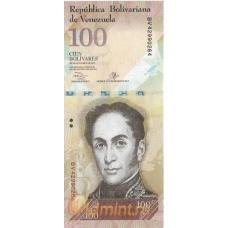 Венесуэла. 100 боливаров. 2013 г. Б-2058