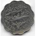 10 центов. 2005 г. Багамские острова. Альбула. 8-2-526