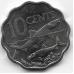 10 центов. 2007 г. Багамские острова. Альбула. 8-2-527