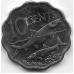 10 центов. 2010 г. Багамские острова. Альбула. 8-2-528