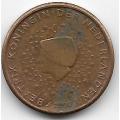 1 евроцент. 2000 г. Нидерланды. 8-5-481