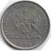 25 центов. 2006 г. Тринидад и Тобаго. Чакония. 5-4-532