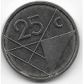 25 центов. 2009 г. Аруба. 5-4-536