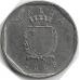 5 центов. 1998 г. Мальта. Краб. 5-4-537