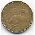 1 цент. 1995 г. Мальта. Ласка. 5-4-541