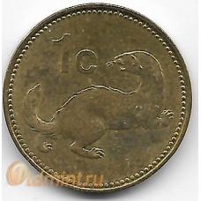 1 цент. 2007 г. Мальта. Ласка. 5-4-542
