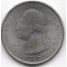 1/4 доллара (квотер). 2002 г. США. P. Национальный парк Чако. 5-5-704