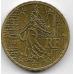 10 евроцентов. 2001 г. Франция. 5-5-718