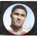 100 драм. 2008 г. Армения. «Короли футбола» - Эйсебио. Серебро. Акс-101