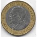 10 шиллингов. 2009 г. Кения. Джомо Кениата. 16-4-479