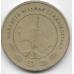 50 тенге. 2009 г. Туркменистан. 16-5-480