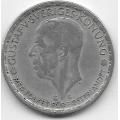 1 крона. 1944 г. Швеция. Серебро. 9-3-324