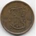 50 пенни. 1941 г. Финляндия. 15-5-610