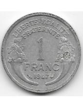 1 франк. 1947 г. Франция. 19-3-328