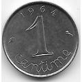 1 сантим. 1964 г. Франция. 19-3-337