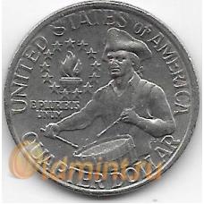 1/4 доллара (квотер). 1976 г. США. 200 лет независимости. 19-5-232