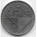 25 центов. 2007 г. Аруба. 12-1-386
