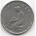 50 сентимов. 1923 г. Бельгия (на фламандском). 12-2-772