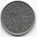 50 сентимов. 1928 г. Бельгия (на фламандском). 12-2-773