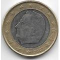 1 евро. 2002 г. Бельгия. Король Альберт II. 12-2-796