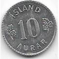 10 эйре. 1970 г. Исландия. 12-3-96