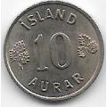 10 эйре. 1969 г. Исландия. 12-3-097