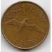 1 пенни. 1979 г. Гернси. Северная олуша. 12-4-483