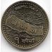 1 рупия. 2007 г. Непал. Карта, Эверест. 7-1-698