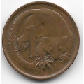 1 цент. 1966 г. Австралия. Опоссум. 7-3-588