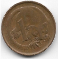 1 цент. 1974 г. Австралия. Опоссум. 7-3-589